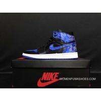 c4a1ee98c9dcbb 320 Air Jordan 1 Bred Royal AJ1 Men Blue Best