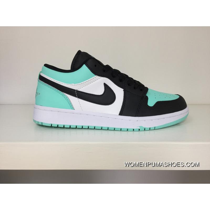 Air Jordan 1 LOW 1 A LOW Mint Green Sneakers Women Shoes And Men Shoes Code 553558117110 Best