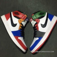 Jordan 1 Action Leather Rainbow Outlet