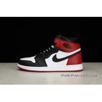 Pure Air Jordan 1 OG High Black Toe Also 1 Black Toe Shoes Men Shoes 555088-125 Outlet