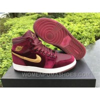 Nike Air Jordan 1 RETRO GS Red Velvet 2017 Spring New Christmas Deals
