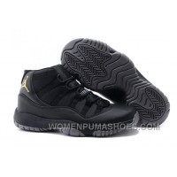Charcoal Black And Gold Jordan 11 Men Basketball Shoes Free Shipping Authentic BTTSrf