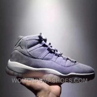 Air Jordan 11 Space Jam Grey Suede Limited Edition Lastest RxXAc