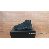 AJ12 Black Owl Standard Air Jordan 12 OVO Black873864-032 Best