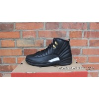 AJ12 Black Gold Standard Air Jordan 12 The Master 130690-013 Copuon