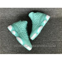 Air Jordan 13 GS What Is Love 13 888165-322 Tiffany Blue Authentic Free Shipping 2CsPA