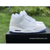 Air Jordan 3 Pure White Pure White Colorways New Year Deals