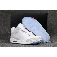 Air Jordan 3 Pure White Pure White For Sale