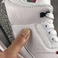 Air Jordan 3 Line All The Action Leather New Release