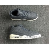 Air Jordan 3 Retro Wool Dark 854263-004 New Release MWSEN