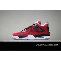 Jordan Air Super High Quality Aj4 4 Toro Bravo SKU 308497-603 4 Big Red Bulls Copuon