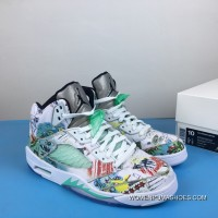 Air Jordan 5 Wings Luminous Wings Graffiti 3m AV2405-900 New Release