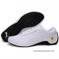 Puma Future Cat Gt Ferrari Shoes In White Online