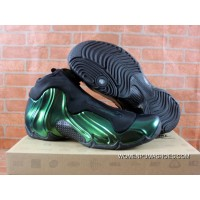Nike Air Flightposite One Northern Lights Black Green Glow Shoes Outlet