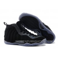 """Nike Air Foamposite One Premium """"Black Suede"""" Black/Anthracite For Sale Zkwyj"""