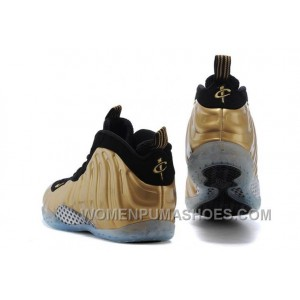 Cheap Nike Air Foamposite One Metallic Gold Black Discount WJK7Sj