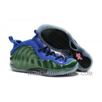 Nike Air Foamposite One Green Blue For Sale Christmas Deals P88bzP