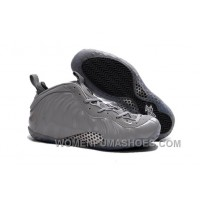 "2017 Nike Air Foamposite One Premium ""Wolf Grey"" Mens Basketball Shoes Discount X5RGcE"
