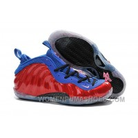 Nike Air Foamposite One Red Blue For Sale Lastest RzRDMy