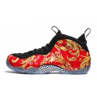 "Supreme X Nike Air Foamposite One ""Red"" Mens Basketball Shoes Christmas Deals AEHdd2"