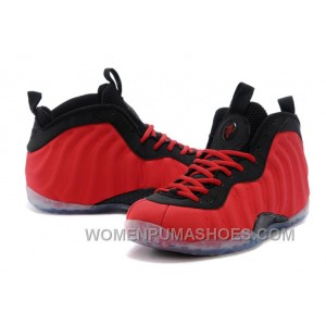 "Nike Air Foamposite One ""Red Suede"" Red/Black Online For Sale JakPa"