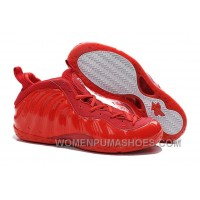 """Buy Cheap Nike Air Foamposite One """"Red Devil"""" Custom All Red For Sale 2HhS6"""