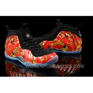 "Nike Air Foamposite One ""Red Supreme"" Shoes Cheap For Sale Christmas Deals WRDYFyJ"