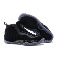 "Buy Cheap Nike Air Foamposite One ""Black Suede"" Basketball Shoes Super Deals BFEJN"