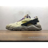 Nike Air Huarache Pig Leather Material Running Shoes 829669-337 Copuon