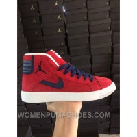 NIKE AIR JORDAN SKY HIGH OG RED WOMEN MEN PIG LEATHER Super Deals