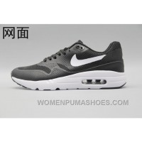 Nike Air Max 1 Ultra Flyknit 87 Oreo Black White Men Women Online HSE7B