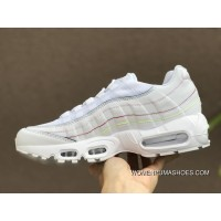 Nike Air Max 95 Release Date May 2018 Style Code AQ4138-100 White Rainbow Limited Women Online