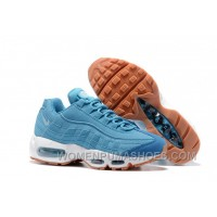 Nike Air Max 95 2017 Spring Blue Women New Release JYCT6aA
