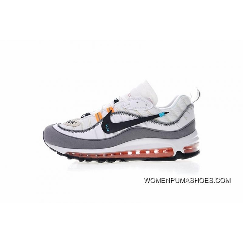 The Super Custom Shoes With Virgil Abloh X Nike Air Max 98 The Ten Retro  All ...