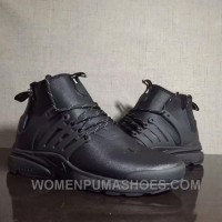 Nike Air Presto Utility Mid Men Outdoor Shoes Wind-proof Water-proof Authentic