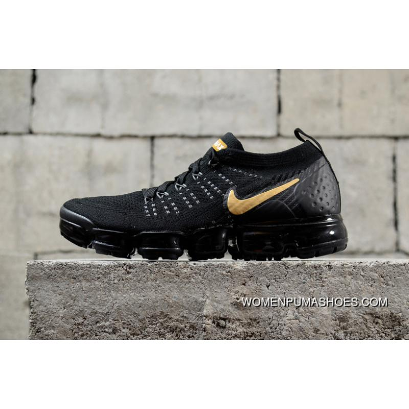 best service 6d036 28dac USD  87.96  299.06. Nike Air Vapormax Flyknit 2018 2.0 Zoom Black Gold ...