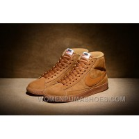 NIKE BLAZER High PRM VNTG 518171 Pig Leather Men Brown Online