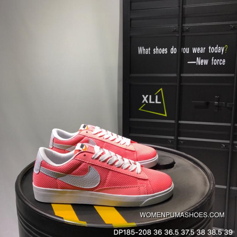 Nike Blazer Low Le Summer Mesh Contracted Sneakers DP185208 New Year Deals
