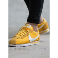 Nike Cortez Womens Yellow Black Friday Deals 2016[XMS1889] Free Shipping X4nwR