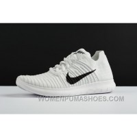 NIKE FREE RN FLYKNIT 5.0 831069-101 White Women Men Free Shipping
