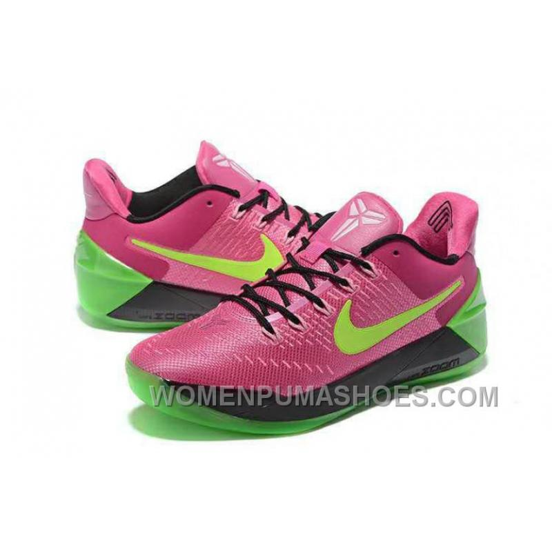 ... Cheap Nike Kobe A.D. 12 Pink Flash Green Red Authentic Rey66Bs ...