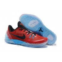 Cheap Genuine Nike Zoom Kobe Venomenon 5 Red Black Soft Blue New Release X2Kby8s