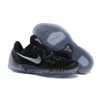 Discount Nike Zoom Kobe Venomenon 5 Black Metallic Silver Dark Grey Cheap To Buy DKxA3