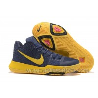 Nike Kyrie 3 Mens BasketBall Shoes Cavs Yellow Discount P7fXZXf