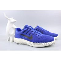 NIKE LUNARGLIDE 8 Jacquard Warp Knitting Blue Cheap To Buy X5aXp