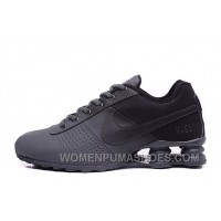 NIKE SHOX DELIVER ALL BLACK 2016 NEW Discount 2RzYj