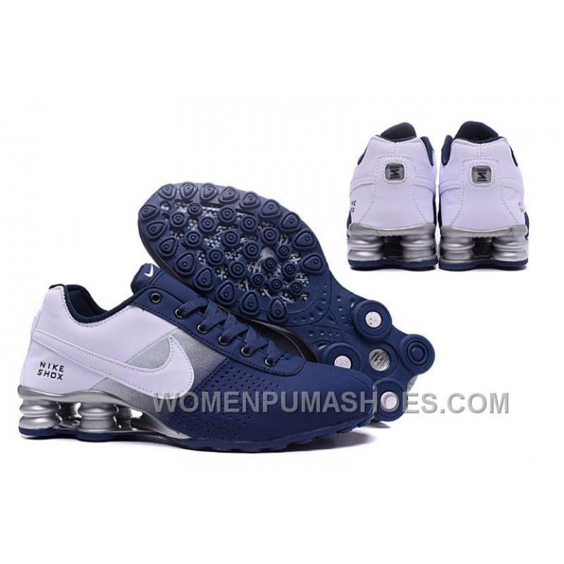 Nike Shox Blue And White