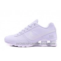NIKE SHOX DELIVER 809 WOMEN BIGGER SIZE ALL WHITE/MEN Authentic MDxYnt