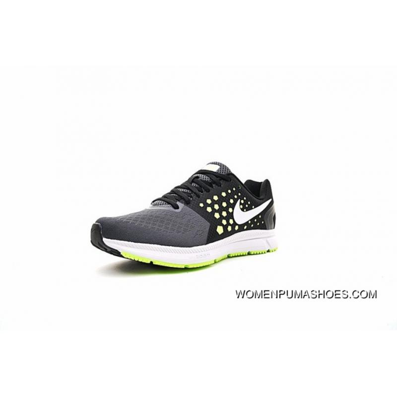 4163f2008064 ... Nike Air Zoom Span Shield Mens Running Shoes Carbon Grey Green  852437-007 Best ...