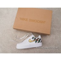 Independent Creative Customized Virgil Abloh Designer Paired OFF-WHITE X Nike Air Force 1 Low Low Classic Sneakers OW Zebra Line Black WHITE Roses 315122-111 New Year Deals